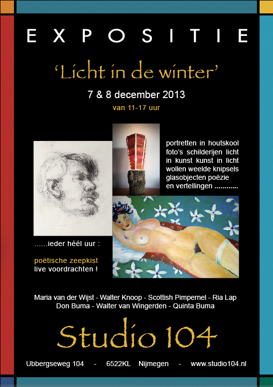 licht in de winter - studio 104